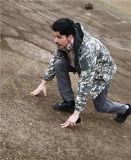Rivestimento di caccia militare impermeabile uniforme di Softshell dell'esercito verde di Hoodie