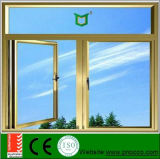 Indicador e porta horizontais da manivela do Casement do teste padrão da abertura com a tela da prova dos insetos