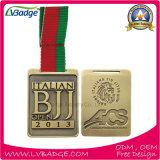 習慣は記念品が付いているスポーツメダルに教育する