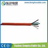 上販売法のPVCによって絶縁される赤い電線
