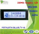 écran LCD graphique de 240X64 MCU, Ra8822, 22pin, pour la position, sonnette, médicale, véhicules