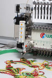 Wonyo Máquina de bordar de lantejoulas de cabeça única de alta velocidade para boné, camiseta, bordado plano, preço de China