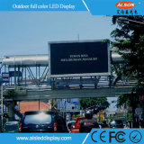 Alto brilho em cores completas P16 LED Outdoor Sign for Roadside