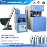 Máquina de sopro do frasco semiautomático do molde de aço 4-Cavity inoxidável