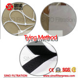 China multifilamento Cgr paño placa de filtro para el filtrado de líquidos