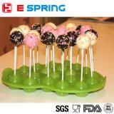 Molde dado forma esfera da esfera de gelo do silicone do silicone do FDA, molde do Lollipop do silicone