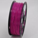 Filament polychrome de PLA de filament d'imprimante du plastique 3D pour l'imprimante 3D