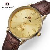 Nuova vigilanza semplice del quarzo della signora Business Watch Waterproof Leather di Belbi