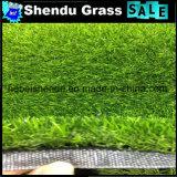 景色のためのPEの反紫外線材料が付いている芝生のカーペット