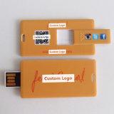 De kleurrijke Aandrijving van de Pen van de Flits van de Kaart USB van de Druk Glijdende (yt-3115)