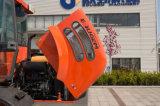 1.6 Tonnen-Rad-Ladevorrichtung mit Wanne 0.8cbm