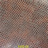 環境PU材料が付いている高品質の履物のアクセサリの上部の革
