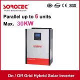 Invertitore solare di griglia inserita/disinserita ibrida con il regolatore di MPPT per la casa