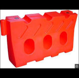 플라스틱 도로 플라스틱 물에 의하여 채워지는 방어 소통량 방벽