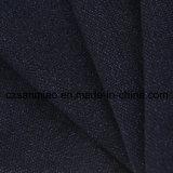 남빛 니트 메시 폴로 셔츠를 위한 100%년 면 세척 데님 직물