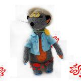 Het Stuk speelgoed Grison van de Animatie van het Beeldverhaal van de pluche