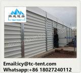Barraca do armazenamento do armazém da estrutura do frame do metal grande para o armazenamento industrial