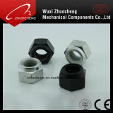 DIN982 DIN985 inoxidable et noix de nylon de blocage de tête d'hexagone d'acier du carbone