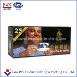 Boîte-cadeau de papier pour le modèle de boîte de papier à thé
