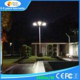 Einteiliges Solarstraßenlaternedes garten-30W des Park-LED mit Fernsteuerungs