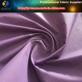 Il tessuto di seta naturale del poliestere, 350t Plain la seta del tessuto di seta naturale, tessuto del poliestere per l'indumento