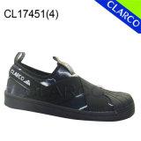 Zapatos ocasionales de la zapatilla de deporte de los hombres con la punta del shell