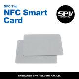 Hf 13.56MHz ISO14443A do PVC Ntag213 do cartão de RFID