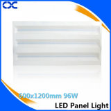 iluminação de painel do teto do diodo emissor de luz de Quatily do Ce de 96W 600X1200mm