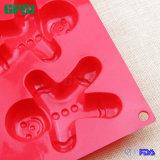 Универсальные BPA освобождают создателя льда листа торта прессформы Gingerbread силикона Dishwashable