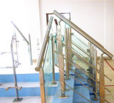Piezas cuadradas de la barandilla/de la escalera del pasamano del acero inoxidable