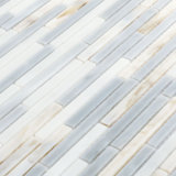 Testes padrões do vidro manchado das formas da telha do mosaico do banheiro do corte da mão