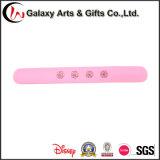 Il marchio su misura popolari ricordo di promozione braccialetti slap silicone Silicone come pubblicità ai regali