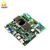 3G 모듈을%s 산업 소형 Itx Mainboard 내장된 2GB/4GB 렘, 2*Mini-Pcie 슬롯 또는 WiFi 모듈, SSD를 위한 1*Mini-SATA 슬롯