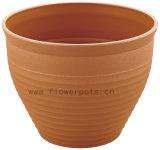 円形のプラスチック植木鉢(KD9452-KD9454)