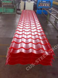 Изогнутая панель крыши толя Sheet/PPGI металла Corrugated