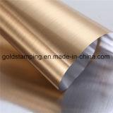 Clinquant d'estampage chaud de couleur de papier d'aluminium d'or multi de Rose