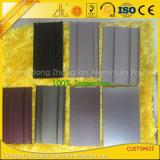 Línea de aluminio multicolora perfil de la esquina de la protuberancia que aplica con brocha con los componentes