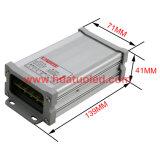 bloc d'alimentation antipluie de l'interpréteur de commandes interactif en aluminium continuel DEL de la tension 12V-60W
