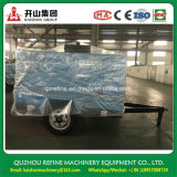 Compressor de ar giratório conduzido Diesel das rodas de Kaishan BKCY-10m3/13bar dois