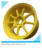 Желтая краска порошка с хорошим механически свойством