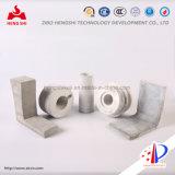 Briques de carbure de silicium collé au nitrure de silicium utilisées pour l'industrie du four dans l'aluminium et la métallurgie