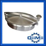 Edelstahl Nicht-Druck elliptischer Manway Deckel für Lebensmittelindustrie