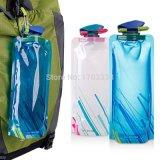 De flexibele Opvouwbare Vouwbare Opnieuw te gebruiken Zak van de Zak van het Ijs van de Flessen van het Water