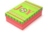 Multi-Diseña los rectángulos de regalo de papel de la Navidad