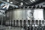 Máquina de etiquetado de relleno del agua de la botella del animal doméstico y que capsula que se lava mineral rotatoria automática llena