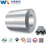 Verwendete Dx51d nullflittergi-heißer eingetauchter galvanisierter Stahl für gewölbtes Dach