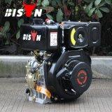 Motor diesel refrigerados por aire Estructura bisontes (China) del precio de fábrica BS186f 406cc 10HP Ohv solo cilindro