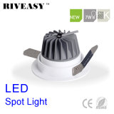 proyector ligero antideslumbrante de la MAZORCA de 7W LED Ce&RoHS LED
