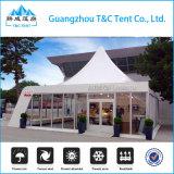 Einfach die 3X3/4X4/5X5m Pagode-Zelt für im Freienereignisse installieren
