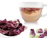 Пурпуровым чай цветка высушенный чаем лиловый Flowering травяной